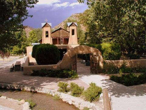 El Santuario de Chimayo in Chimayo, New Mexico.