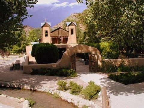 El Santuario de Chimayo in Chimayo, New Mexico.