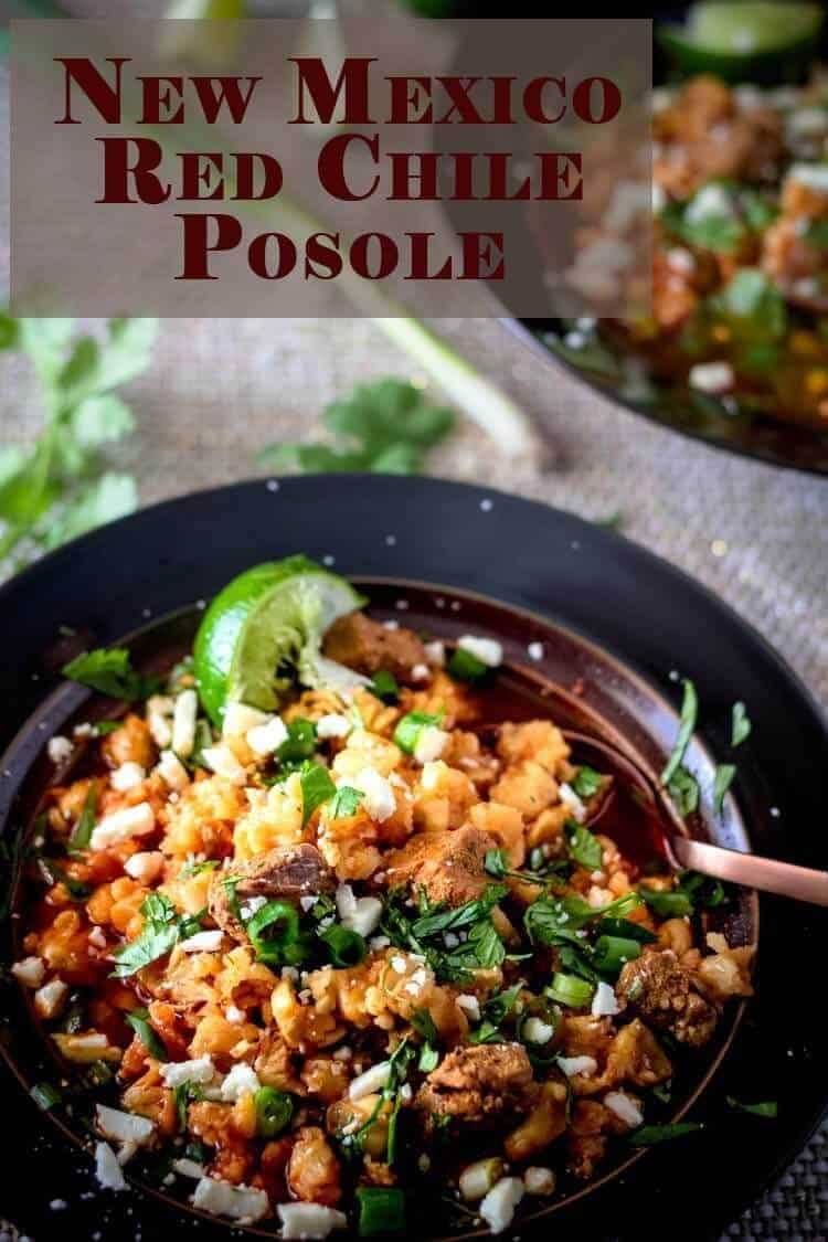 New Mexico Red Chile Posole Short Pin