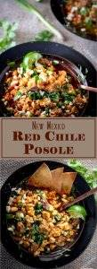 New Mexico Red Chile Posole Long Pin -