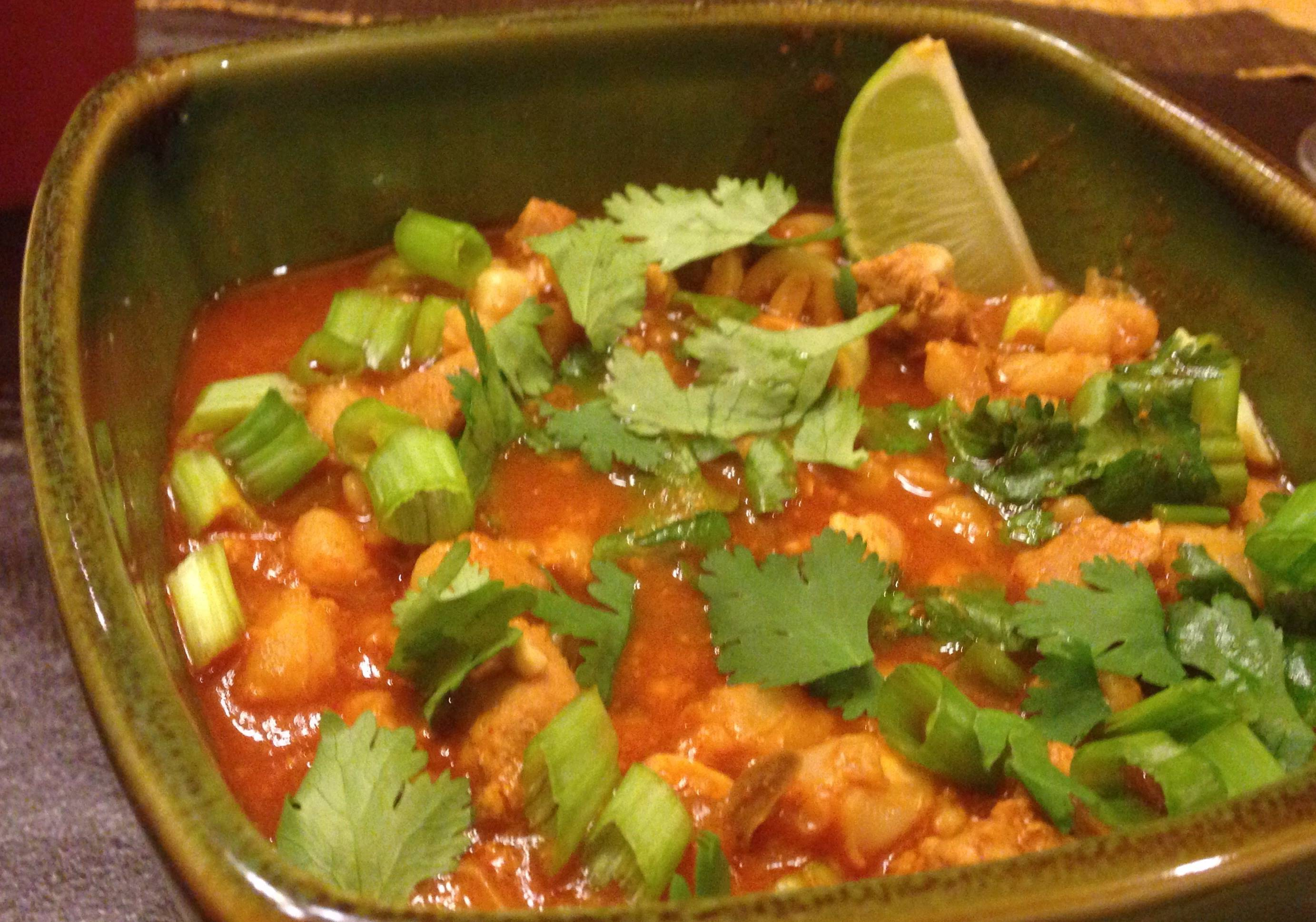 Shrimp And Scallop Posole Recipe — Dishmaps