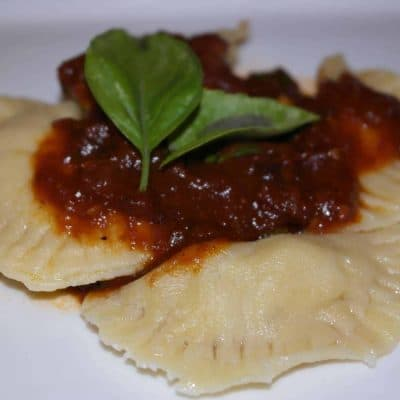 "It's ""All in the Family""… Homemade Ravioli at Andersen Casa"