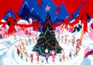 Whoville in How the Grinch Stole Christmas...