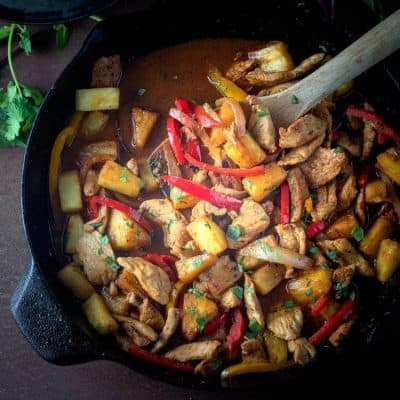 Thai Pork and Pineapple Curry