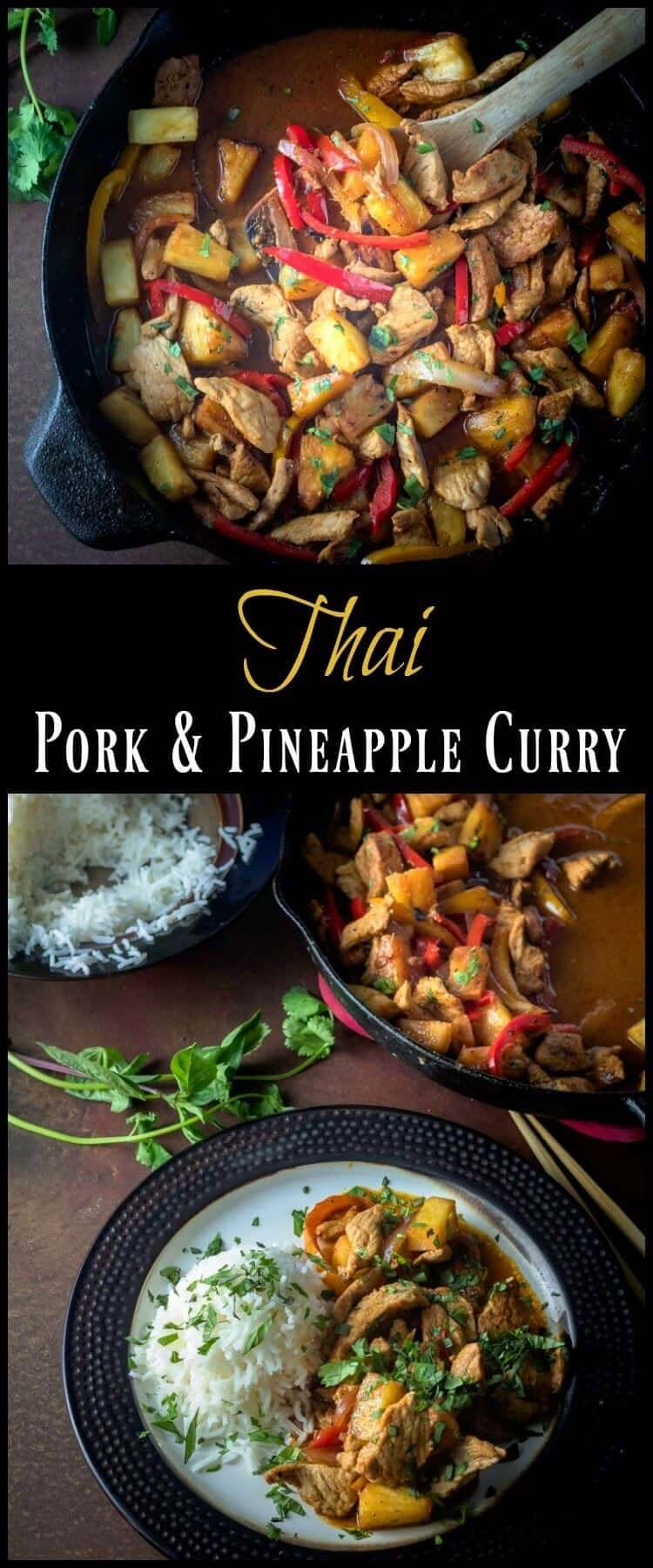 Thai Pork and Pineapple Curry Pin