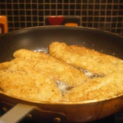 Panko and Sesame Crusted Swai Fillets