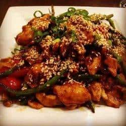 Stir-Fried Chicken, Green Beans, & Peppers In a Flash!