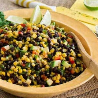 Hatch Green Chile, Black Beans, and Corn Salad