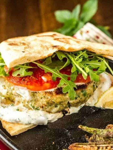 Healthy Indian-Style Sausage Burger Feature
