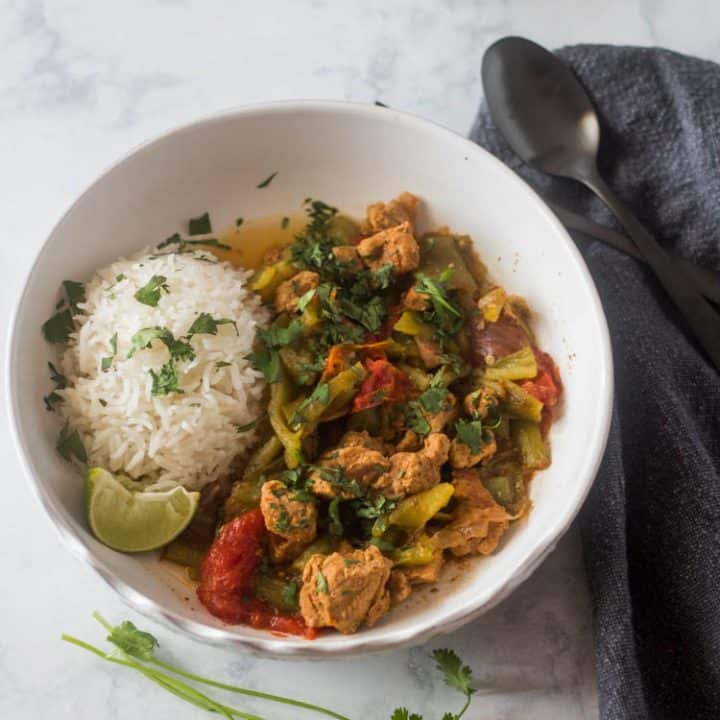 Pork and Hatch Chile (Slow Cooker or Instant Pot)