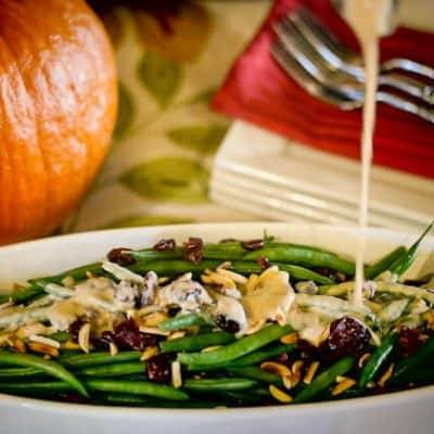 Green Beans With Lemon Shallot Vinaigrette