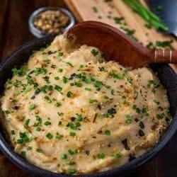 Asian-Style Mashed Potatoes