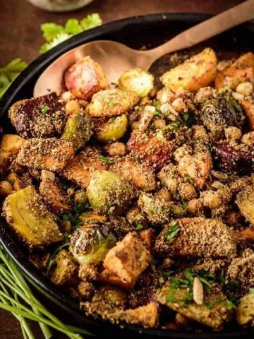 Roasted Vegetables With Dukkah Feature Image