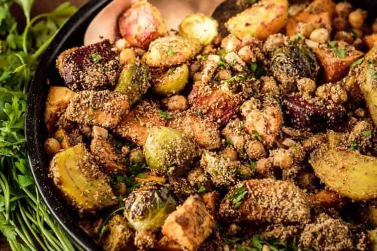 Roasted Vegetables With Dukkah