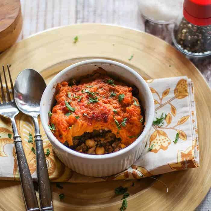 Moroccan Sweet Potato Shepherd's Pie hero image