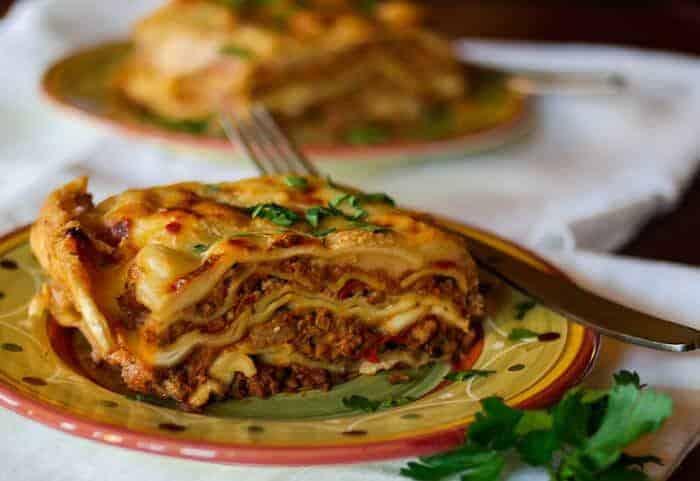 Resultado de imagem para lasagna bolognese