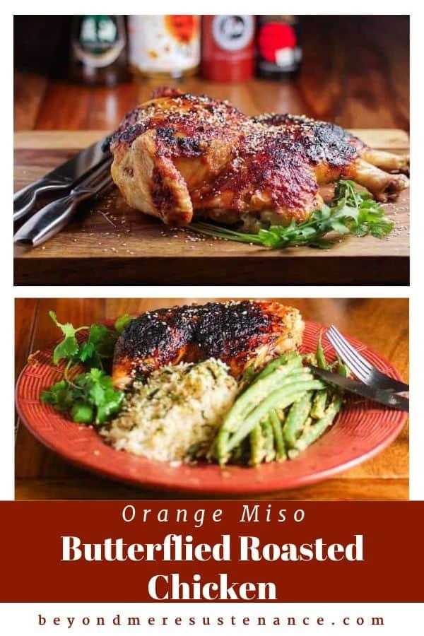 Miso and Orange Glazed Chicken