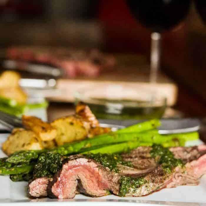 Chimichurri With Flank Steak