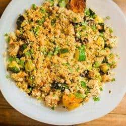 Moroccan Grilled Chicken & Cherry Salad