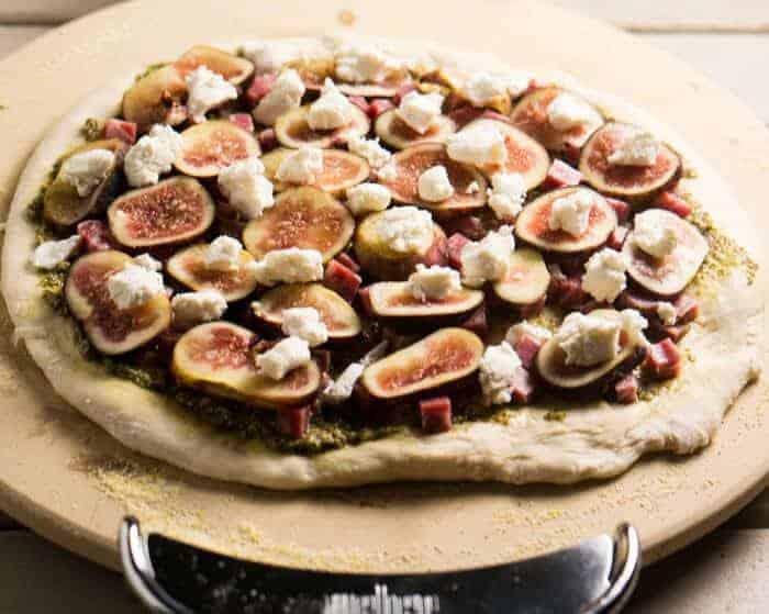 fresh fig pizza recipe