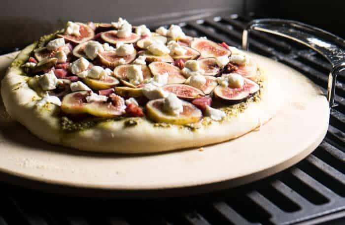Fresh Fig & Soppressata Pizza