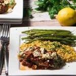 Mediterranean Fish & Lemony Orzo