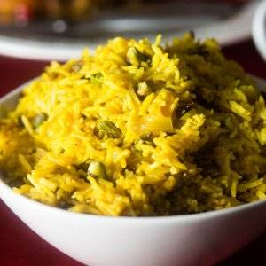 Zereshk and Pistachio Pilaf