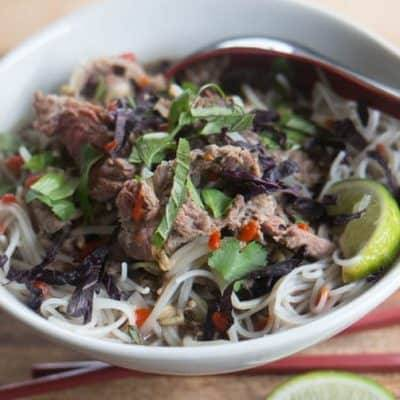 Pressure Cooker Beef Pho and Instant Pot