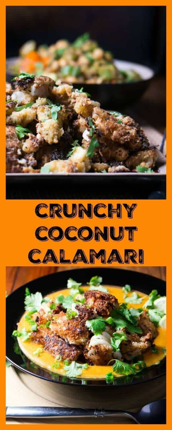 Crunchy Coconut Calamari (Shrimp or Tofu) - Beyond Mere Sustenance