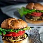 Turkey burgers don't have to be bland and boring! The Mexican flavors in my Super Healthy Turkey BurgersWith Blood Orange Aioli will convince you... Mexican spices, cilantro, cotija, green chile, pinions all combined with healthy ground turkey! #healthyburgerrecipes #burgerrecipes #groundturkey #turkeyburgers #Mexicanburgers #homemadeaiolirecipes #cleaneating #lowfatburgers