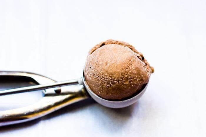 Boozy Chocolate Ice Cream