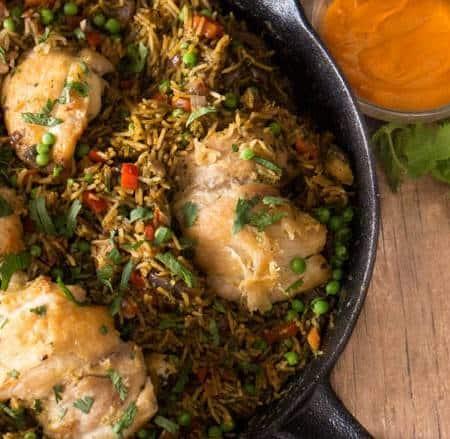 Peruvian Chicken and Rice