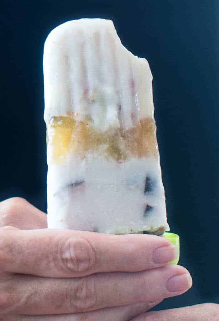 Brandied Coconut and Fresh Fig Ice Pop
