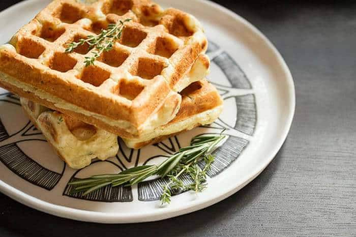 25 Mostly Savory Gourmet Waffles