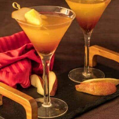 Apple, Pear, and Sage Martini