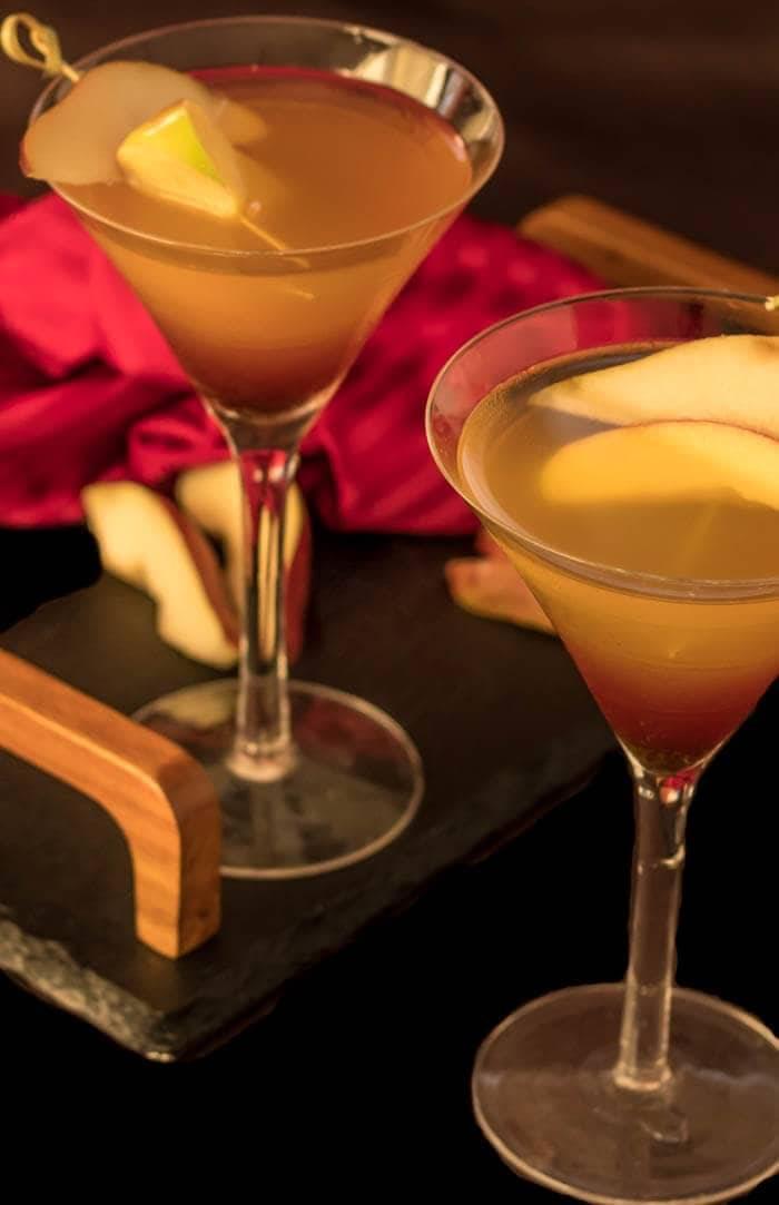 Apple, Pear, and Sage Martini