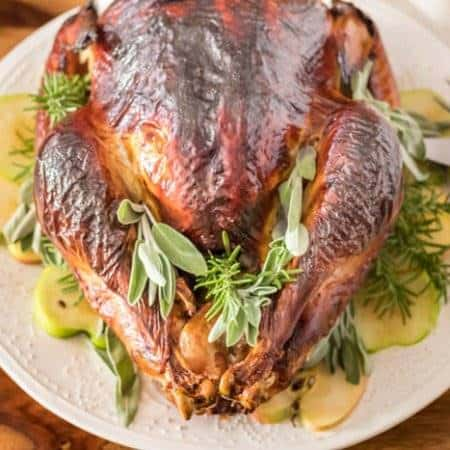 Herb and Apple Brined Turkey