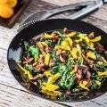 Wilted Spinach With Warm Sherry Vinaigrette