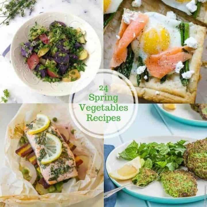 24 Spring Vegetables Recipes