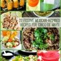 Cinco de Mayo Party Recipes - Healthy recipes for your Cinco de Mayo party including beverages, appetizers, mains, sides, and desserts... A great collection! Cinco de Mayo | party recipes | healthy Mexican