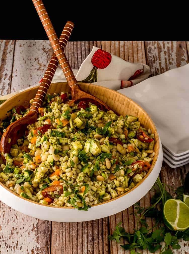 Lima Beans and Grain Salad with Citrus Vinaigrette hero shot