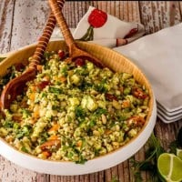 Lima Beans and Grain Salad with Citrus Vinaigrette