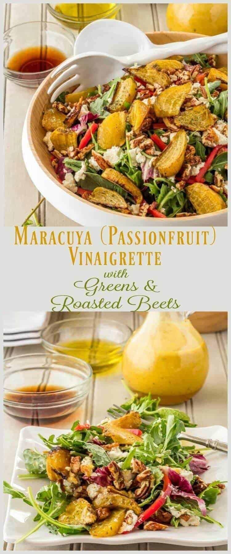 Maracuya (Passionfruit) Vinaigrette Pin