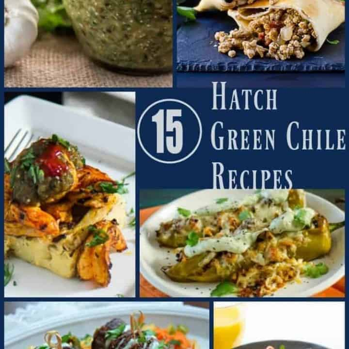 15 Ridiculously Tempting and Healthy Hatch Green Chile Recipes - Inspiration for Hatch green chile lovers looking for new inspiration... Hatch green chile | green chile recipes | Healthy green chile recipes