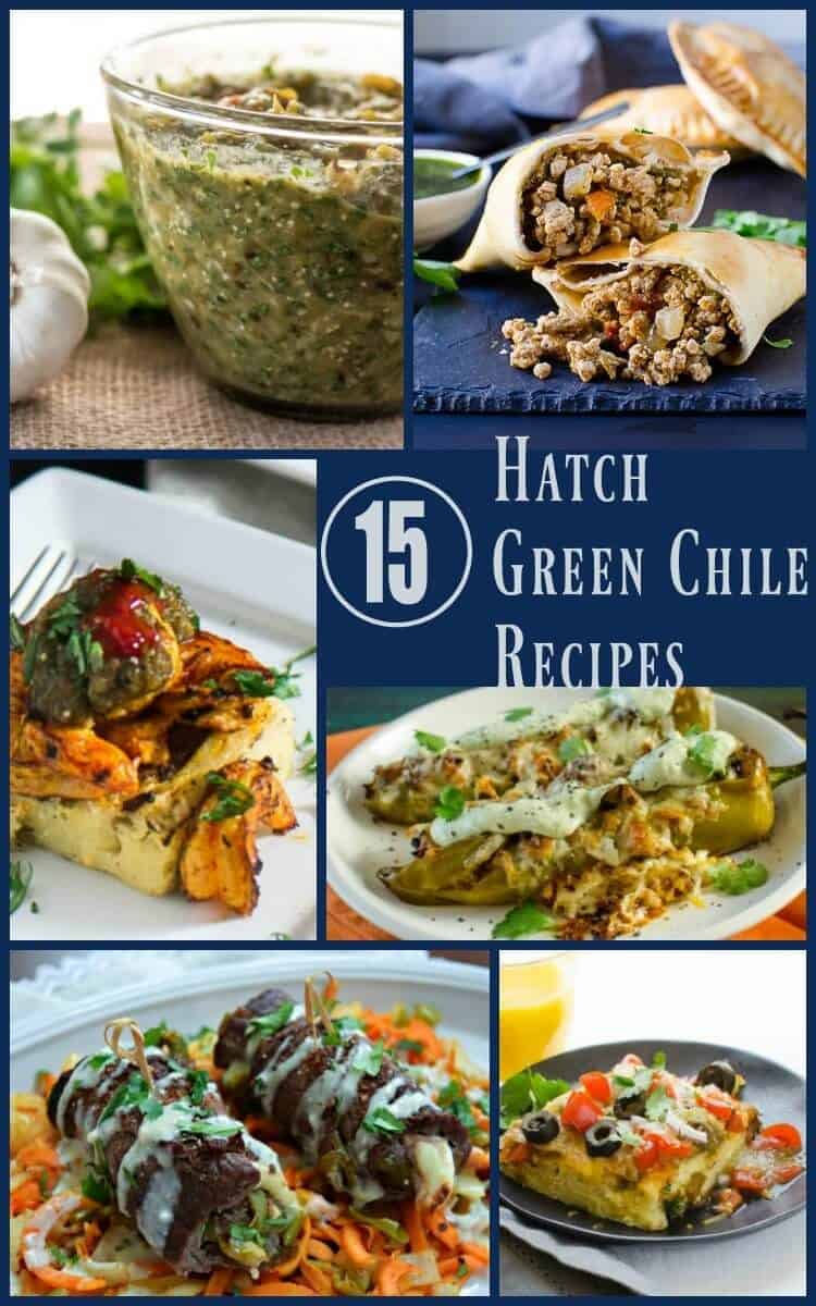 15 Ridiculously Tempting and Healthy Hatch Green Chile Recipes - Inspiration for Hatch green chile lovers looking for new healthy recipes... Hatch green chile | green chile recipes | Healthy green chile recipes