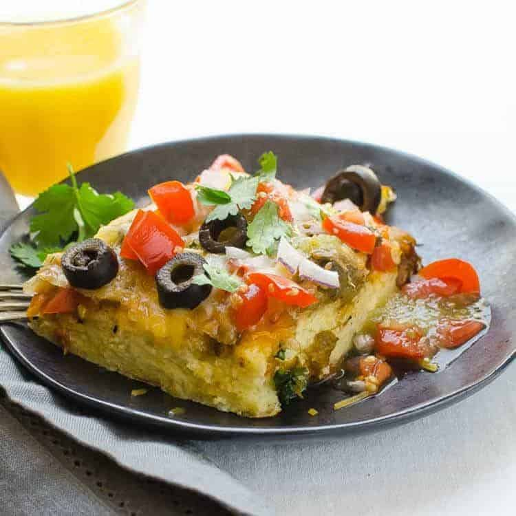 Hatch Chile Breakfast Strata