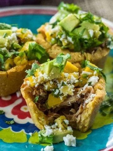 Mexican Sopes 2 Ways Close Up