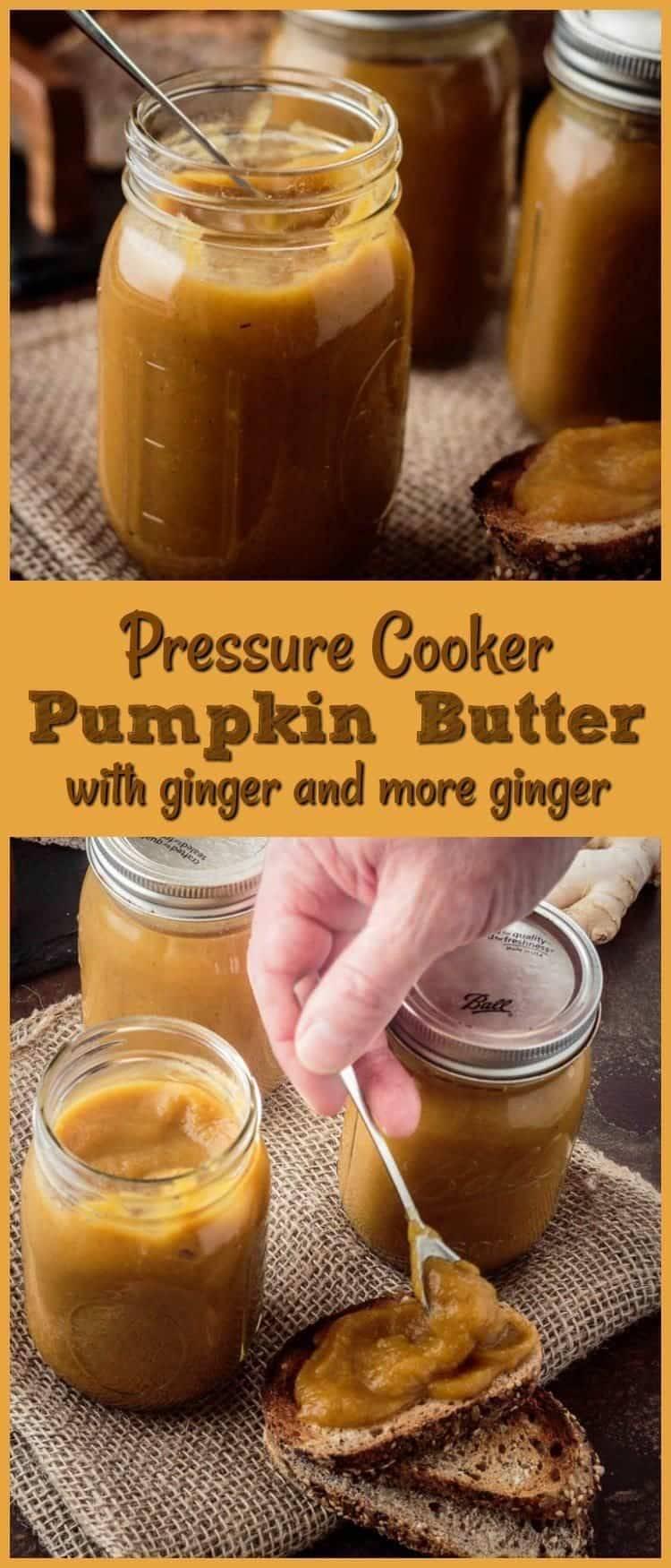 Pressure Cooker Pumpkin Butter Pin -