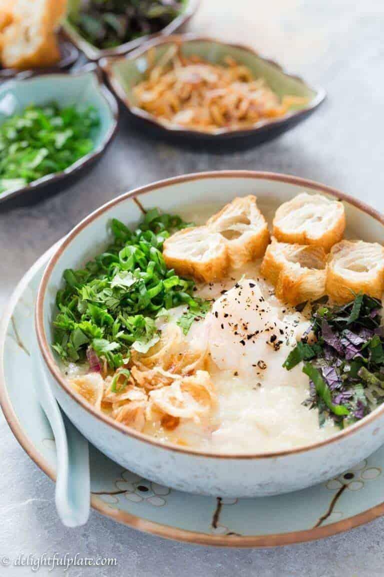 Instant-Pot-pressure-cooker-Vietnamese-fish-congee