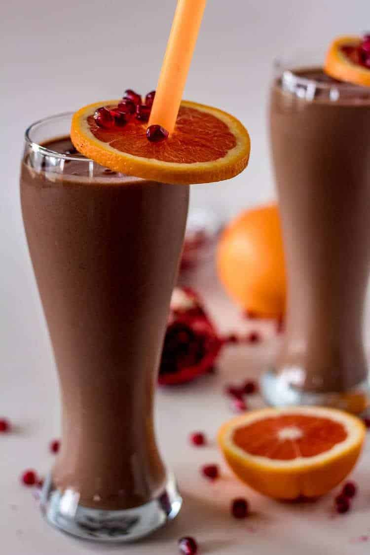 Best Ever Chocolate Meal Replacement Smoothie Hero Image